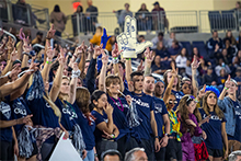 The second annual Parent and Family Weekend attracted thousands of visitors to California Baptist University on Nov. 9-10, bringing families together to unite in Lancer pride.