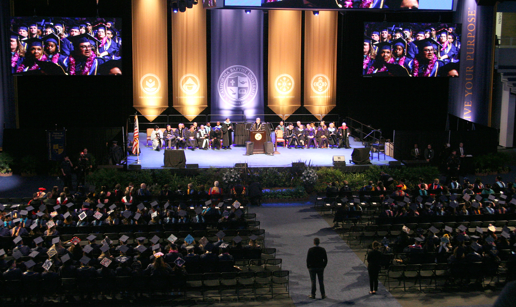 CBU Spring Commencement 2018