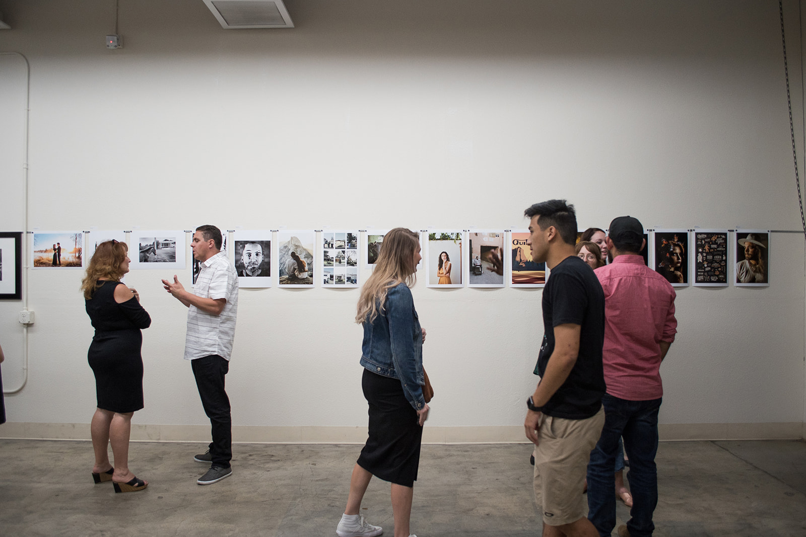 The College of Architecture, Visual Arts and Design (CAVAD) at California Baptist University hosted a Faculty and Alumni Exhibition on Sept. 28. The exhibit displayed more than 30 pieces of photography and graphic designs created by CBU instructors and alumni.