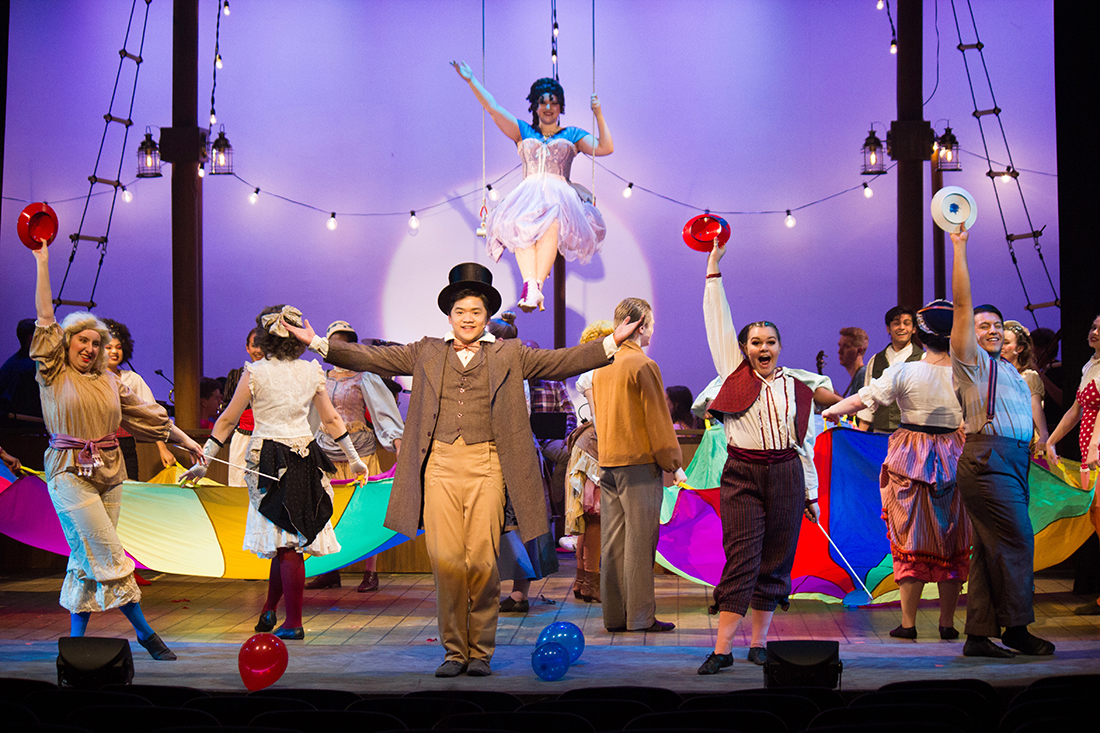 """Barnum"" brings the spectacle of the circus to Wallace Theatre"
