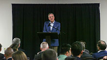 Mohler delves into the supremacy of Jesus at lecture series