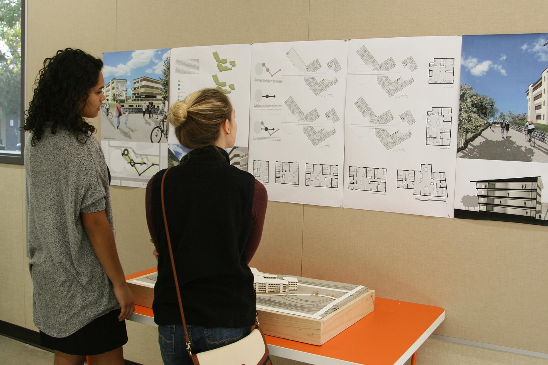 CBU architecture students showcase their work News California