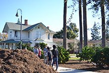 Seventy-five students, faculty and staff at California Baptist University observed Autumn Arbor Day with a campus service project on Dec. 3.