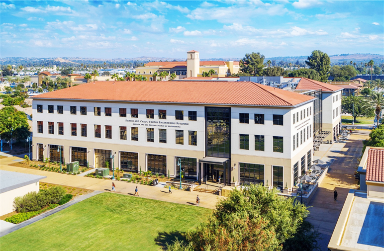 CBU engineering building receives Riverside beautification award