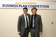 Aspiring student entrepreneurs at California Baptist University pitched their innovative ideas at the second Bob Goodrich Business Plan Competition on April 18. The top three business models won a combined $10,000.