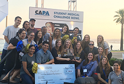 For a second year in a row, California Baptist University students displayed expertise in their field by winning the California Academy of Physician Assistants Student Medical Challenge Bowl on Aug 11.