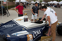 The Gordon and Jill Bourns College of Engineering at California Baptist University along with KVSH IndyCar Racing hosted an Anatomy of an IndyCar event on Sept 20.