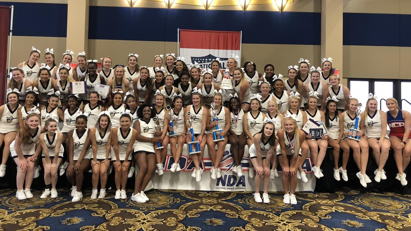 The cheerleading team at California Baptist University continued its dominance at the National Cheerleaders Association (NCA) USA Collegiate Camp by earning several top marks including Best All-Around team.