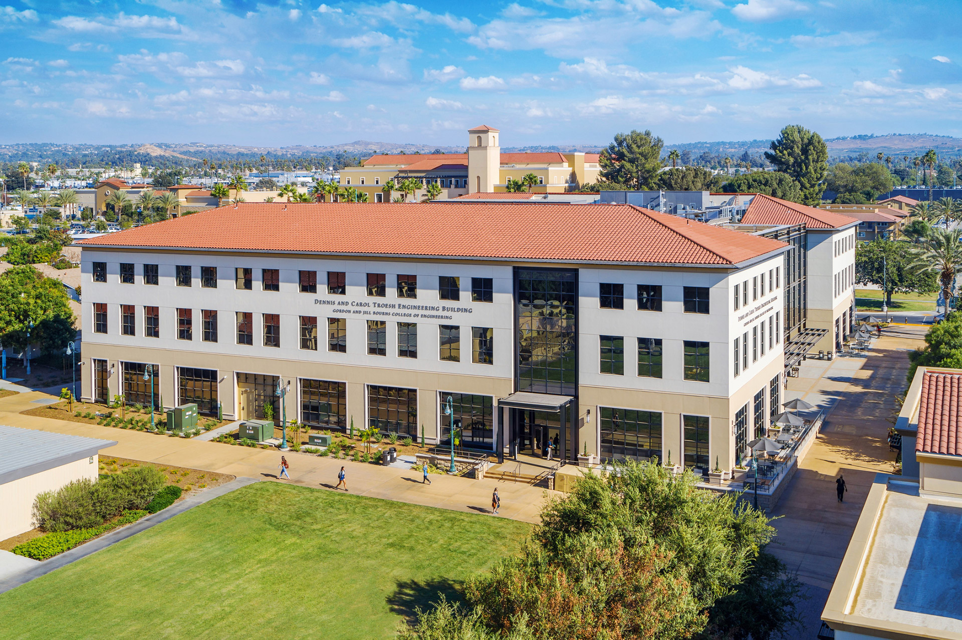 CBU's new engineering building