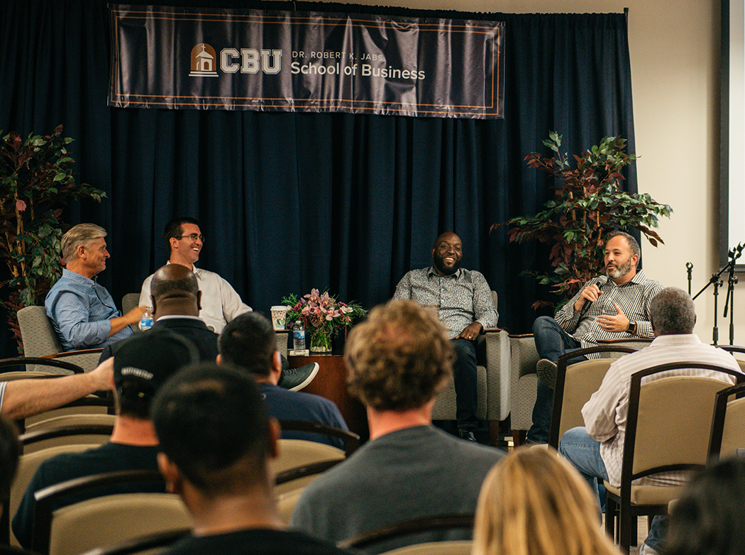 Faith and Enterprise series invites Christian professionals to address CBU students