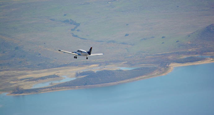Air Force JROTC high school cadets fly high at CBU Flight School training