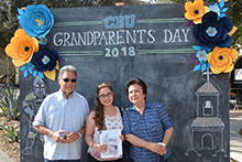 California Baptist University hosted more than 300 grandparents of students at the sixth annual Grandparents Day on April 12.