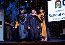 Hundreds of master's degree candidates at California Baptist University are celebrating achievements this week at hooding ceremonies leading up to commencement ceremonies on Dec. 11.
