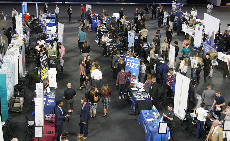 Fall Career Expo at CBU connects students with prospective employers