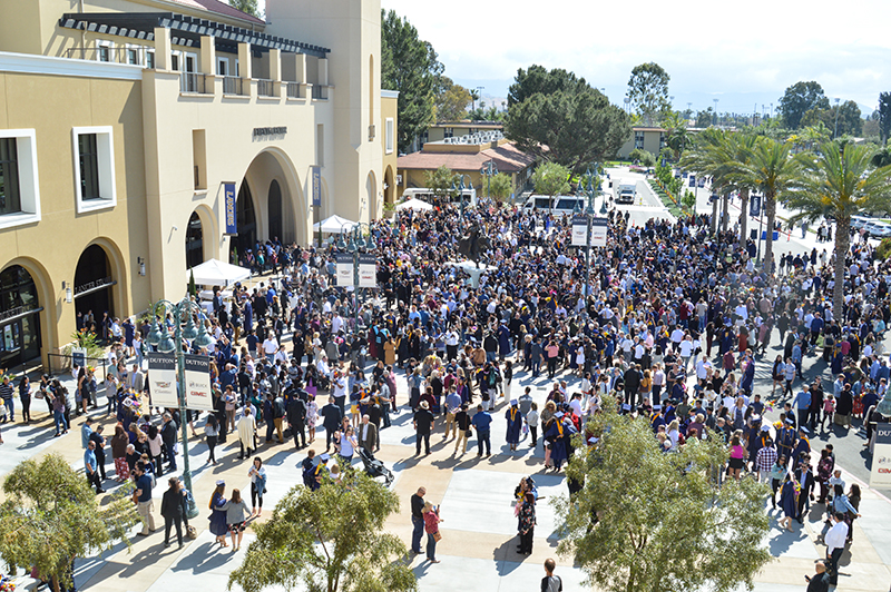 CBU welcomes thousands at each of four spring commencement ceremonies