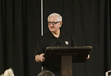 Vietnam veteran shares his life story at lecture series