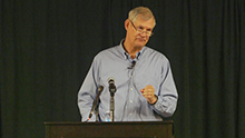 Speaker delves into Reformation doctrine at Christian Ministries Lecture Series