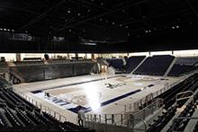 Staff and faculty enjoy sneak peek inside CBU the Events Center