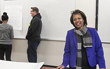 CBU professor brings management training experience into the classroom