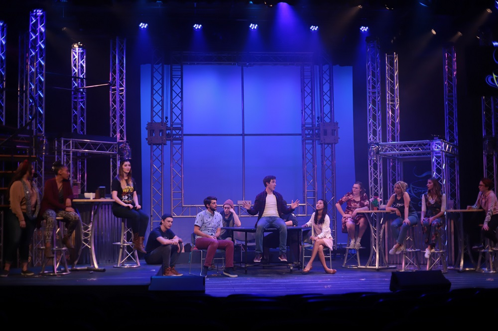 """Godspell"" brings the parables of Jesus to life at Wallace Theatre"