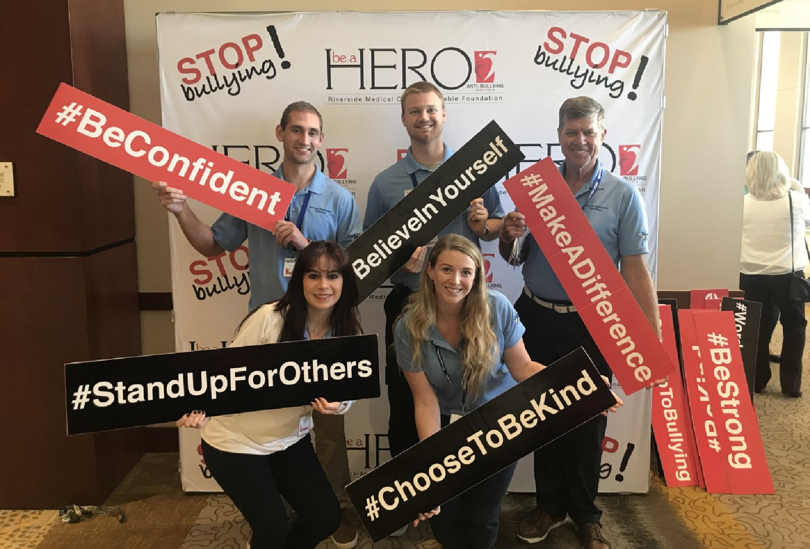 On July 1, 2019, the HERO program received good news. It had secured a $20,000 Kaiser Foundation Hospital grant to help continue its anti-bullying program for high school students in Riverside.
