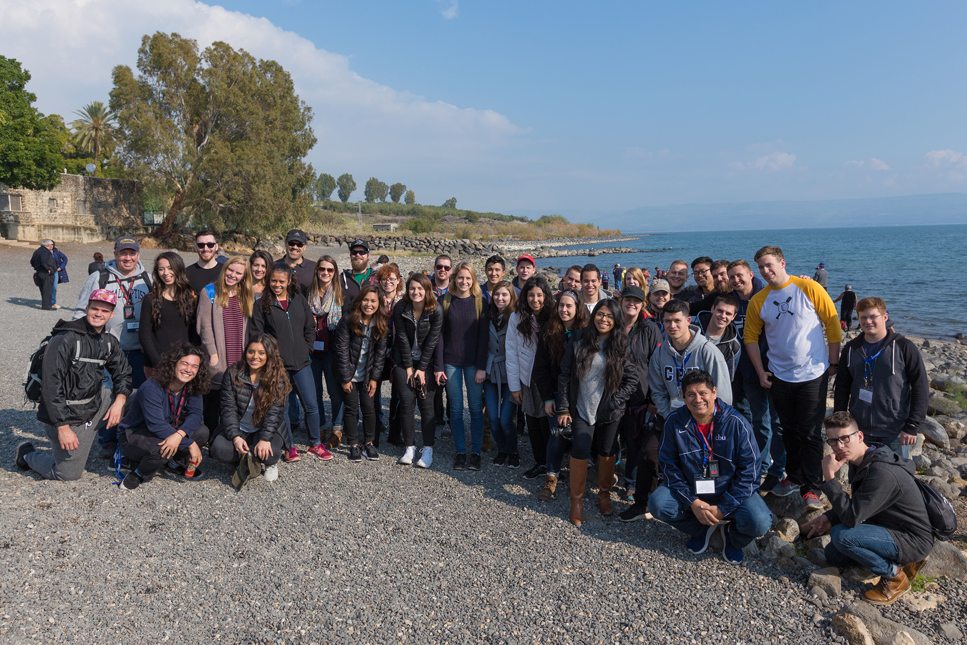 Journey to Israel inspiring, eduaitonal for CBU group