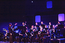 CBU band grooves to jazz at fall concert