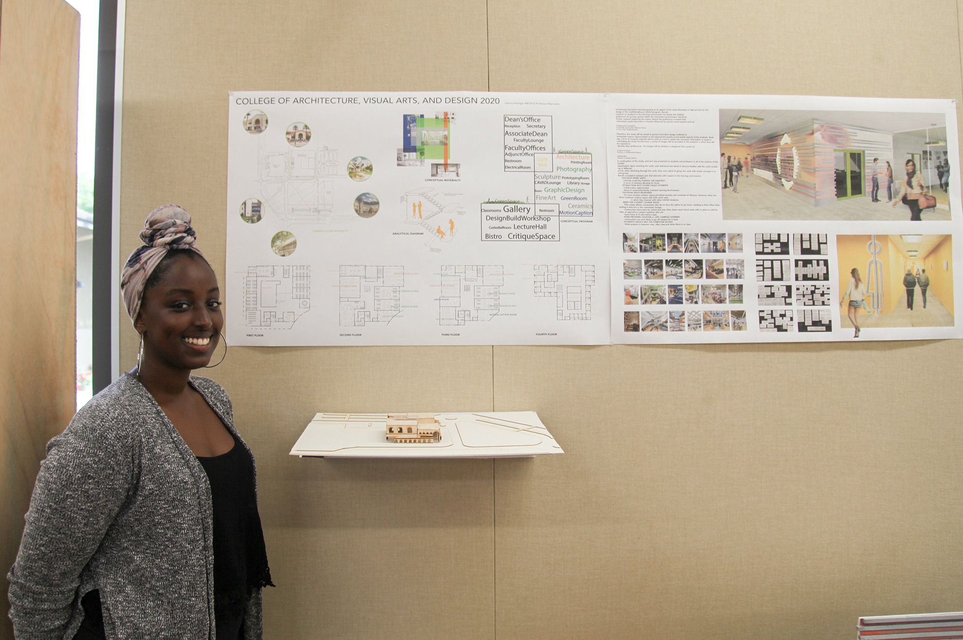 "Architecture students present concepts and renderings for ""future"" CBU buildings"