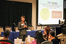 Nearly 200 professionals and community leaders attended a daylong symposium dedicated to learning about infant and toddler mental health issues at California Baptist University on March 16.