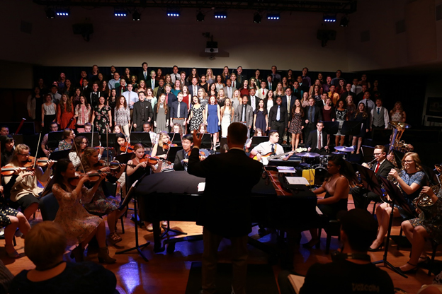 The sounds of the Shelby and Ferne Collinsworth School of Music are now available to thousands of U.S. churches thanks to a partnership with LifeWay Worship.
