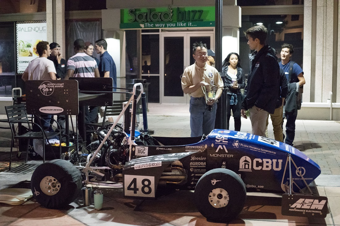 CBU students and faculty members showcase their innovative work at the Long Night of Arts and Innovation