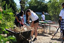 CBU students participate in Love Riverside service project