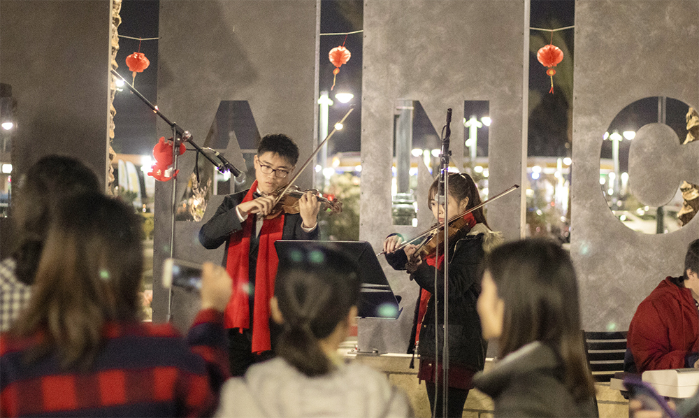CBU students celebrate the Lunar New Year