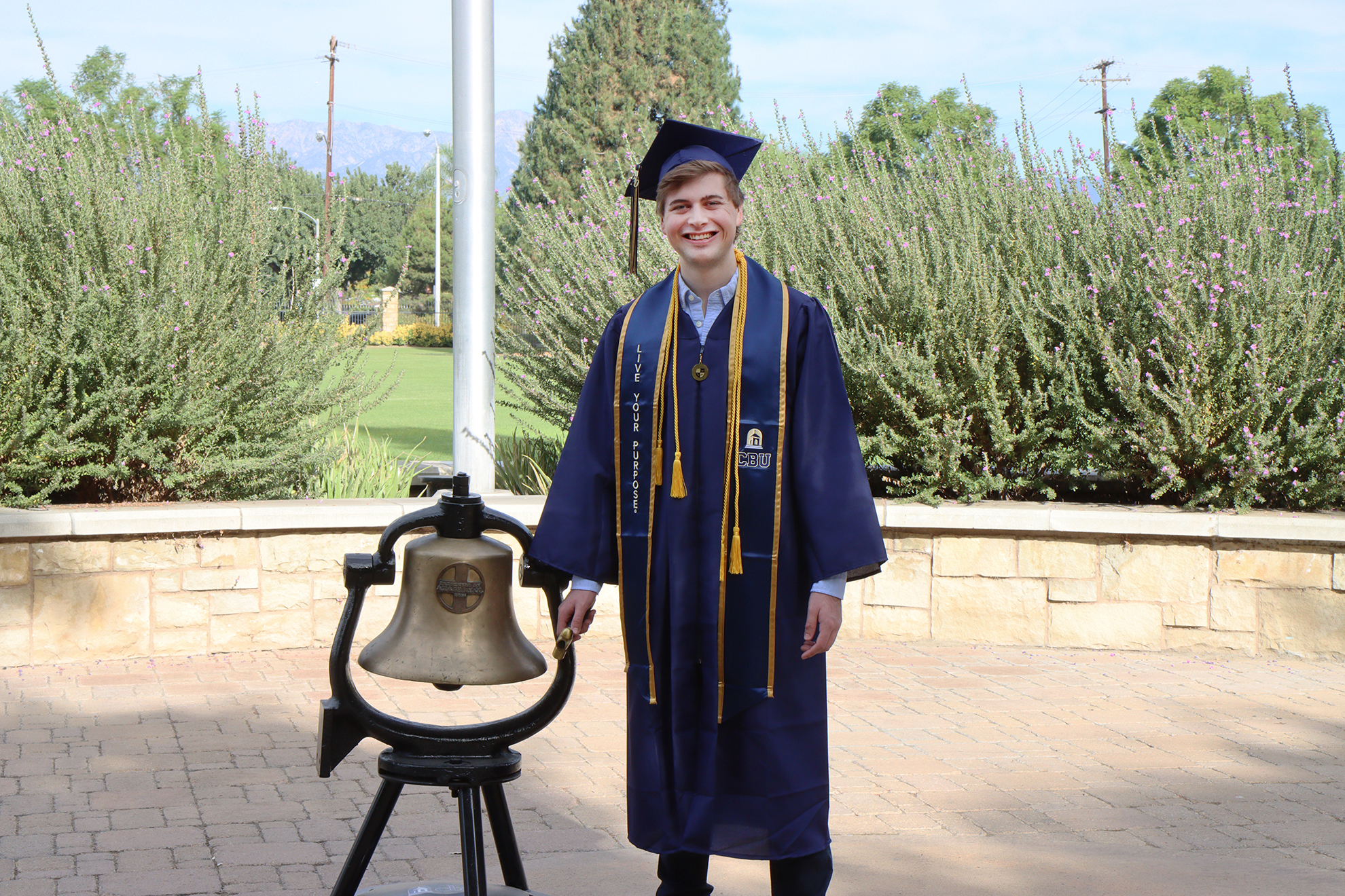 CBU commencement tradition continues with the ringing of the bell