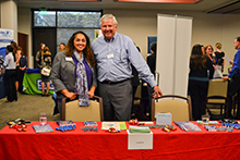 More than 25 employers were on hand to speak to students about job or internship opportunities at the Meet the Firms event hosted by the Career Center at California Baptist University on Sept. 29.