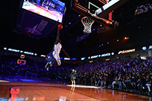 Thousands of students filled the Events Center at California Baptist University to kick-off the basketball season at the high-energy Midnight Madness event on Nov. 5.
