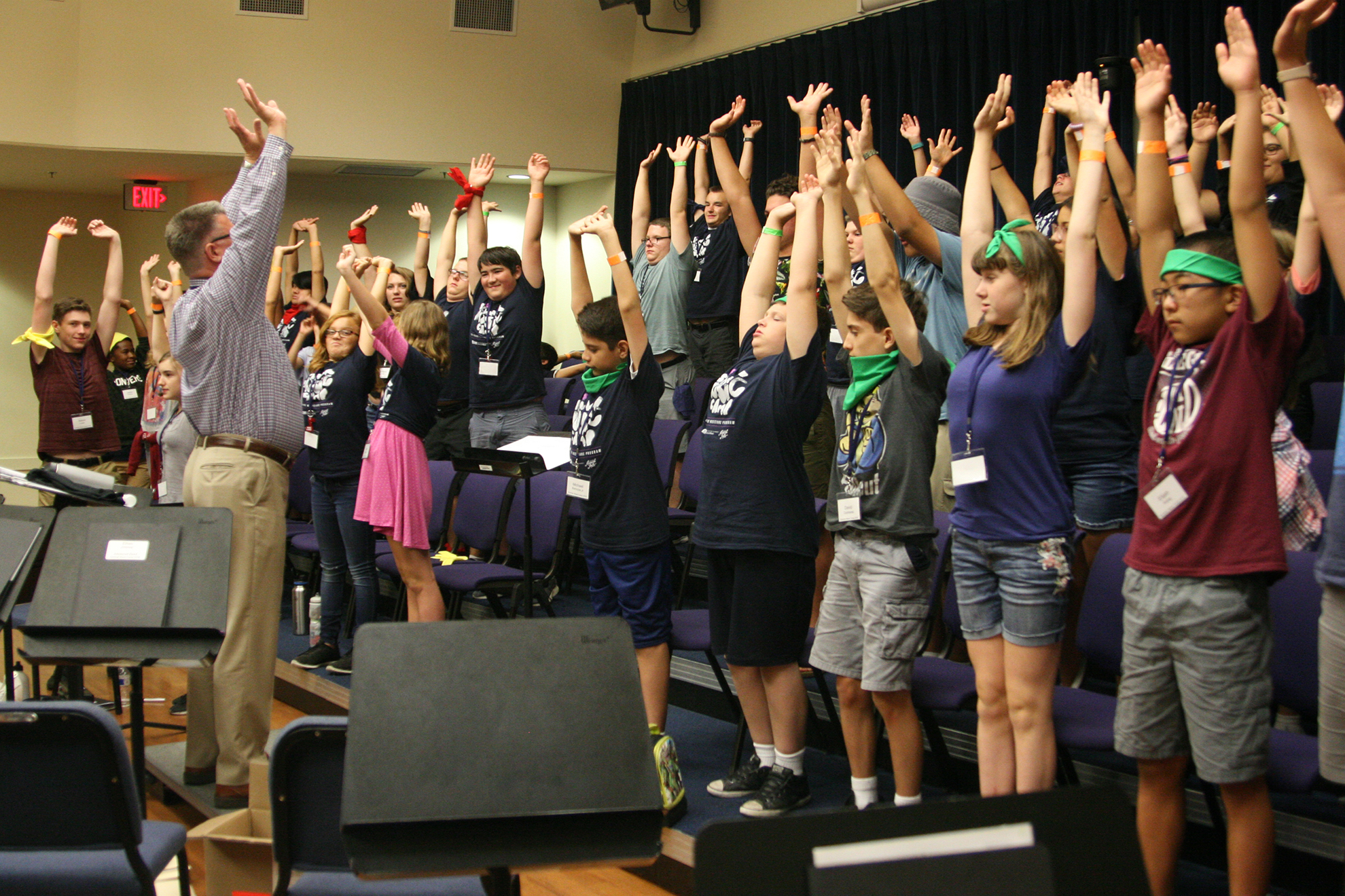 School of Music's summer camp helps young musicians improve their craft
