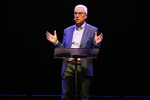 Christians need to be good stewards of the talents they have been given, Dr. Nabil Costa told a chapel audience at California Baptist University on Nov. 13.
