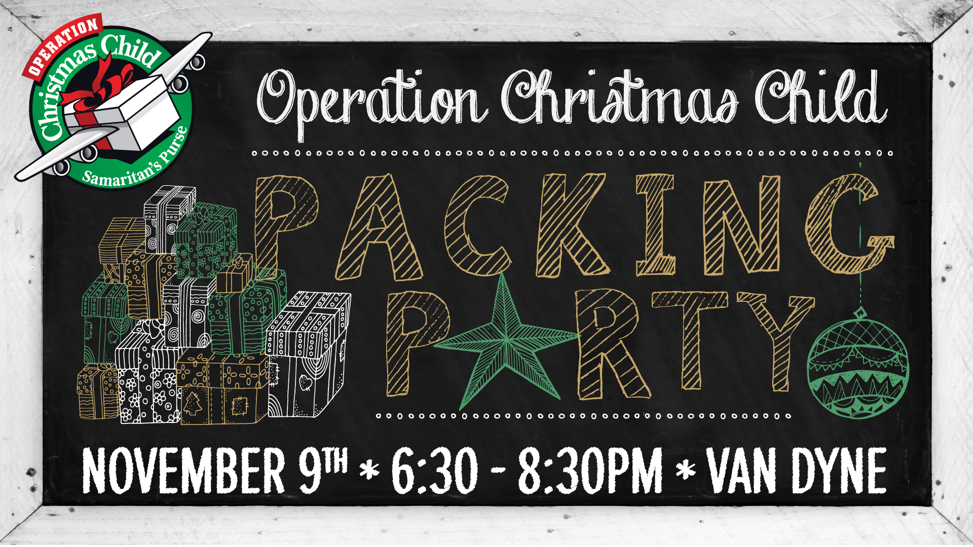Operation Christmas Child Packing Party 2017