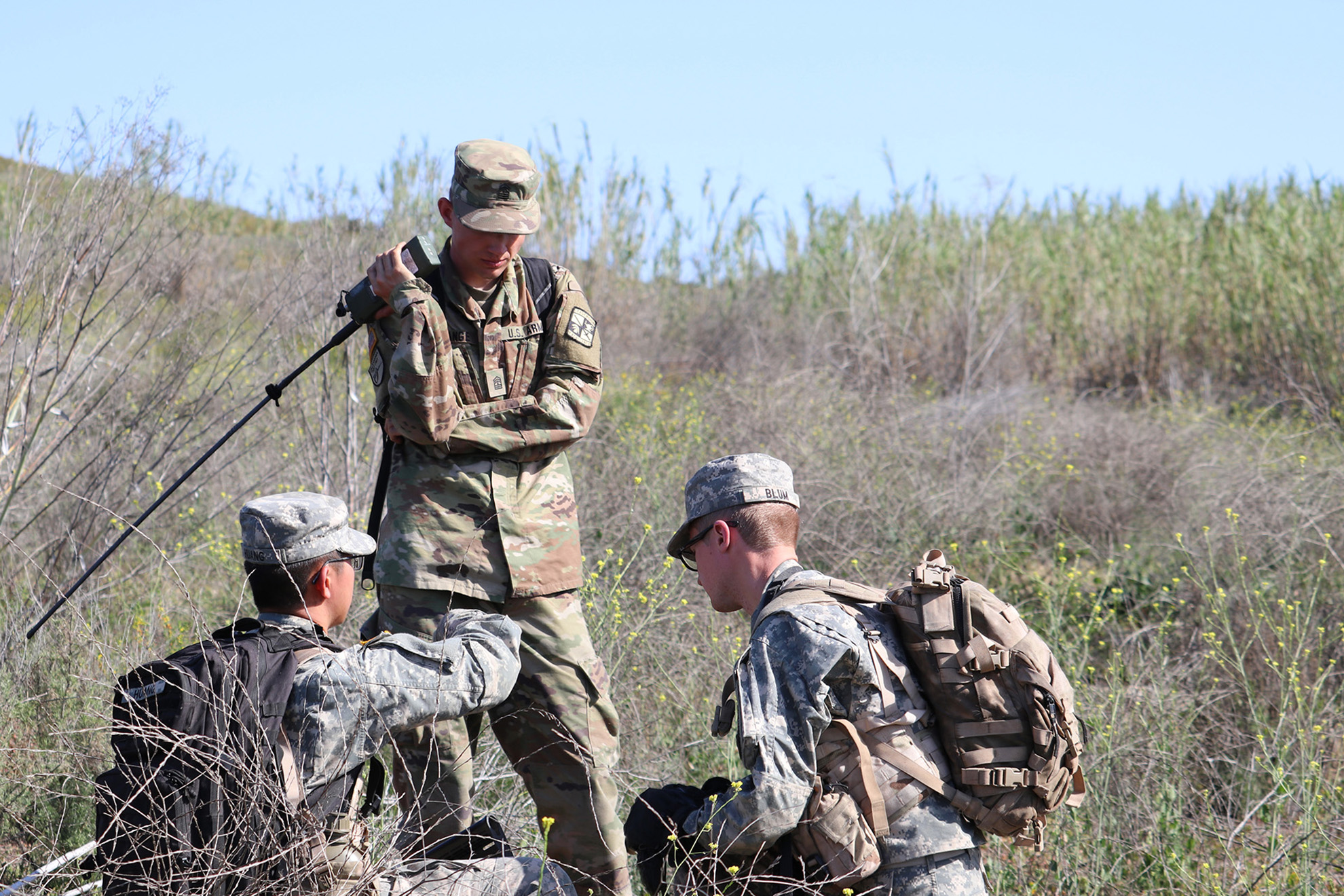 ROTC cadets conduct tactical training at Camp Pendleton :: News