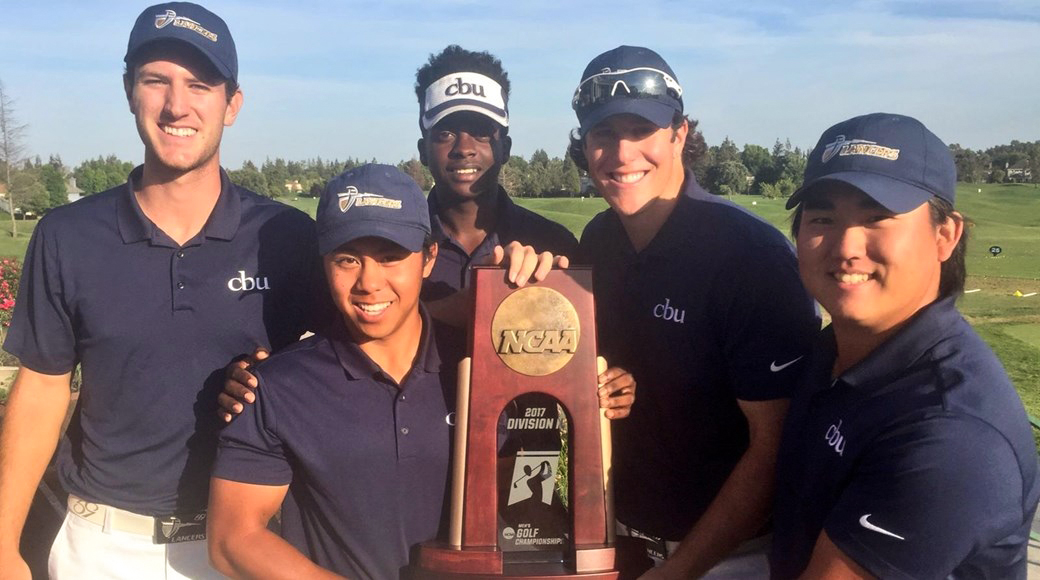 CBU men's golf claims historic victory at regional championships