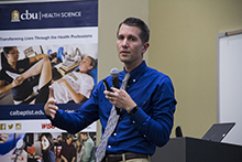 The College of Health Science at California Baptist University hosted Dr. Roderick Stuart to kick off its 7th annual Distinguished Lecture Series on Sept. 18.