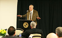 The Gospel must touch everything in a church—the doctrine, culture and spirituality—for it to be effective, Dr. Ray Ortlund told a California Baptist University audience on Feb. 14.