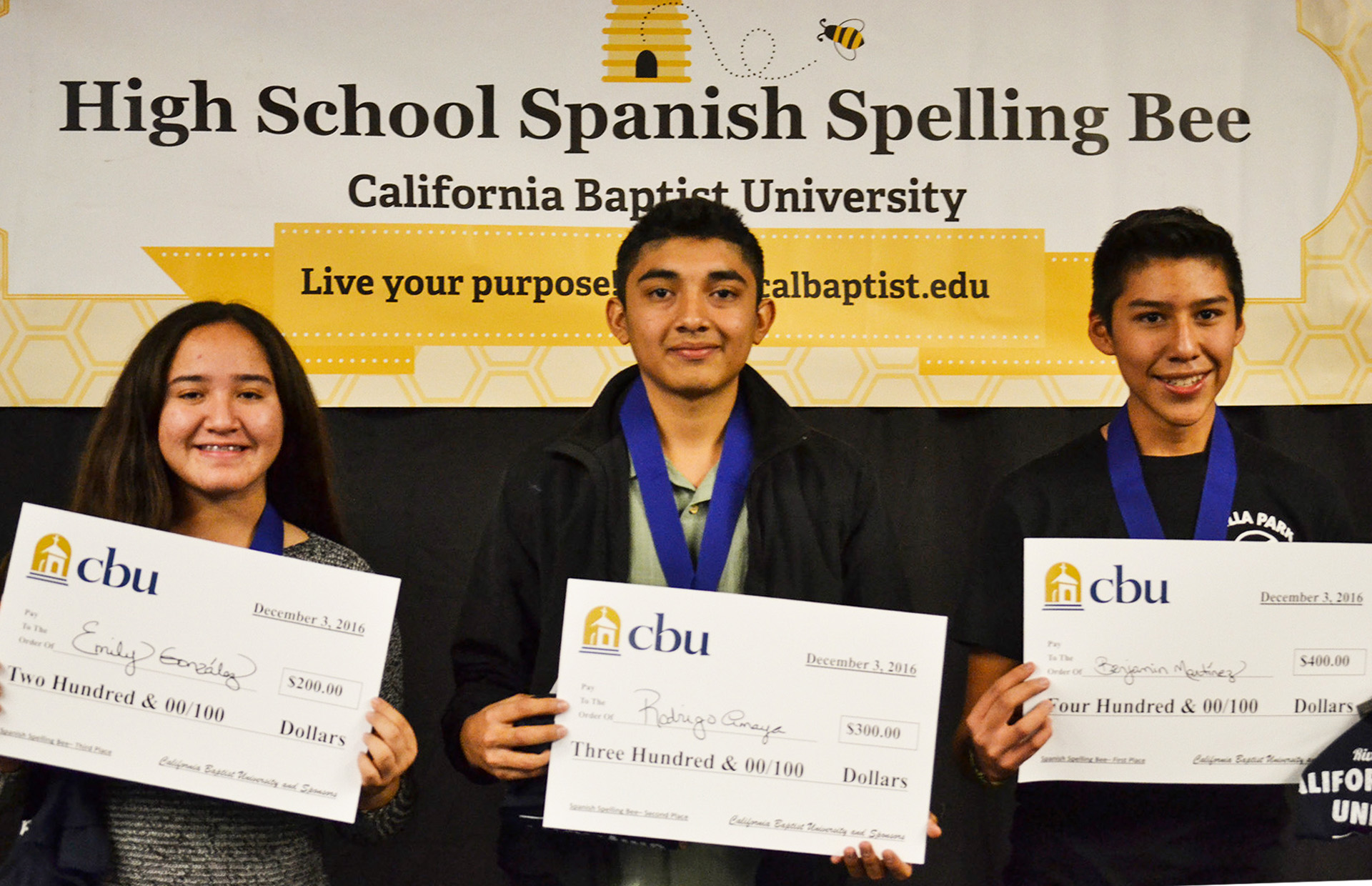 Spanish Spelling Bee 2016
