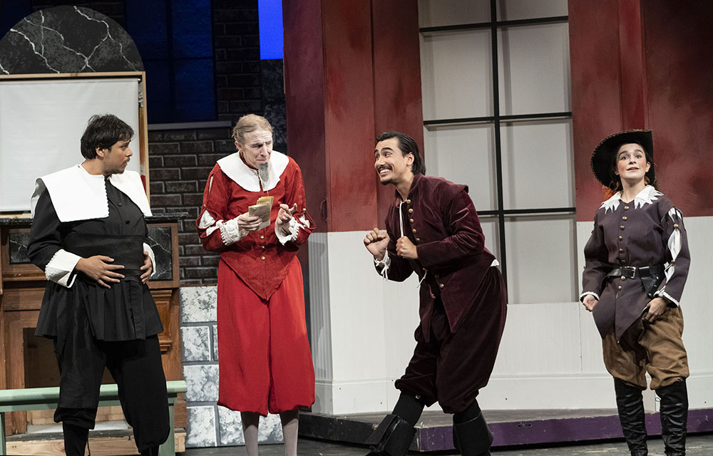 """Servant of Two Masters"" brings classic Italian comedy to CBU theatre"