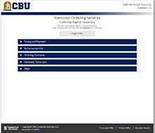 Students and alumni from California Baptist University can now receive an official transcript within an hour thanks to a new online service launched by the Office of the University Registrar on Nov. 12.