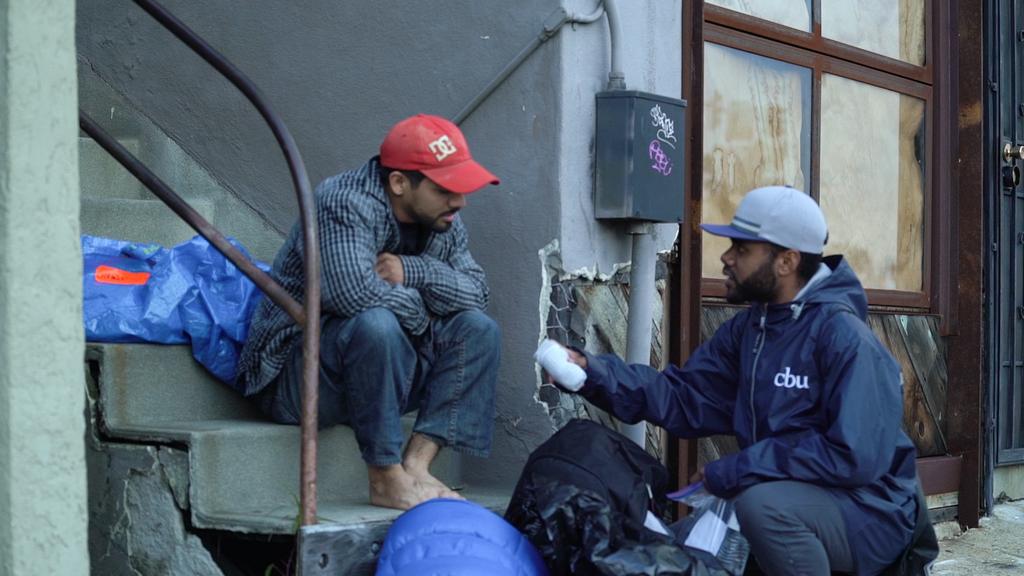 CBU Urban Excursion team serves homeless in San Diego