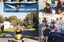 Homecoming activities at California Baptist University drew an estimated 7,500 alumni and friends to campus on Nov. 4-5.