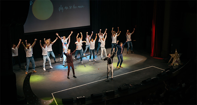 CBU audience 'wooed' at talent show