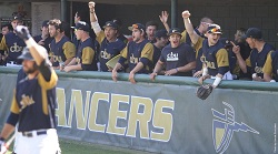 The California Baptist University baseball team welcomed back former players for an evening filled with nostalgia prior to 2016 home opener.
